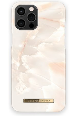 Ideal of sweden Telefoon - Fashion Case iPhone 12 Pro Max Rose Pearl Marble