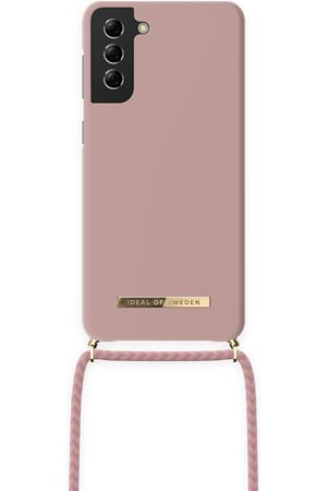 Ideal of sweden Dames Telefoon - Ordinary Necklace Case Galaxy S21 Plus Misty Pink