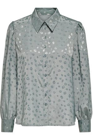 ONLY Printed Shirt Dames Blauw
