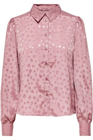 ONLY Printed Shirt Dames Roze