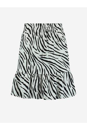 NIKKIE by Nikkie Plessen Rok met zebra print 32 / Off White