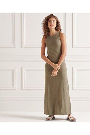 Superdry Jersey maxi-jurk