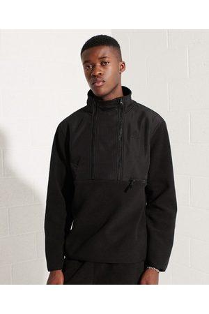 Superdry Mountain Sport jas van fleece met halflange rits