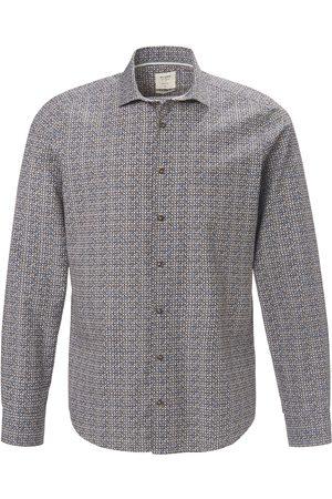 Olymp Overhemd 100% katoen Slim Fit Van