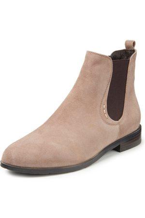 EVERYBODY Dames Enkellaarzen - Chelsea-boots Thuya Toronto geitenleer Van