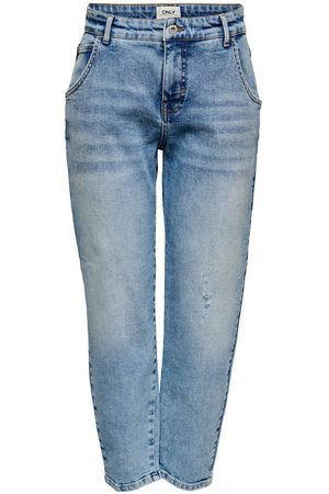 ONLY Onltroy Life Carrot Ankle High-waist Jeans Dames Blauw