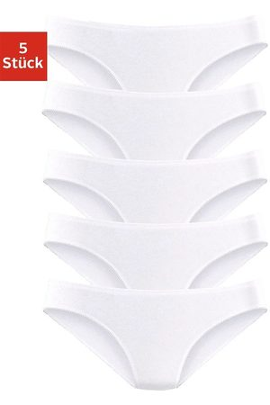 PETITE FLEUR Dames Stretchbroeken - Bikinibroekje van katoen-stretch (5 stuks)