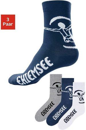 Chiemsee Heren Sokken & Kousen - Vrijetijdssokken in gemakkelijk te onderhouden merkkwaliteit (3 paar)