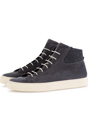 corneliani Heren Sneakers - Sneakers Heren Donkerblauw Wool