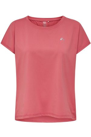 Only Dames Sportshirts - Loose Fit Sport Shirt Dames Rood