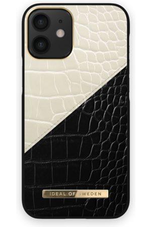 Ideal of sweden Telefoon - Atelier Case iPhone 12 Mini Cream Black Croco