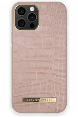 IDEAL OF SWEDEN Atelier Case iPhone 12 Pro Max Rose Croco