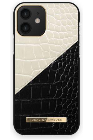 Ideal of sweden Atelier Case iPhone 12 Cream Black Croco