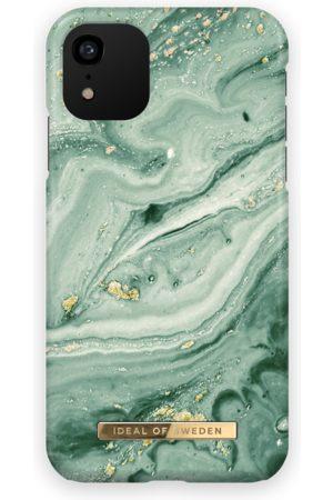 Ideal of sweden Telefoon - Fashion Case iPhone XR Mint Swirl Marble