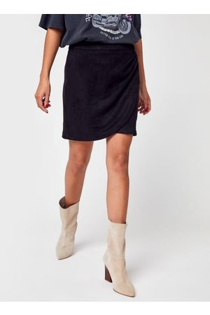 Vero Moda Vmdonnadina Drapy Hw Faux Suede Skirt by