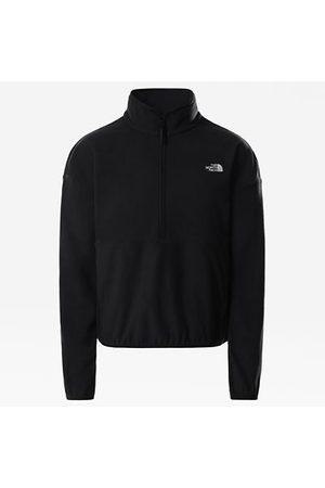 The North Face The North Face Tka Glacier-korte Sweater Voor Dames Tnf Black Größe L Dame