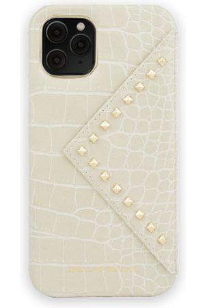 Ideal of sweden Telefoon - Statement Case iPhone 11 Pro Beatstuds Cream Croco