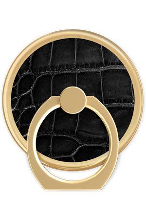 Ideal of sweden Telefoon - Magnetic Ring Mount Noir Croco