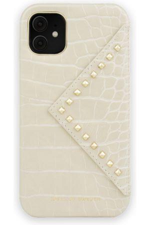 Ideal of sweden Telefoon - Statement Case iPhone 11 Beatstuds Cream Croco