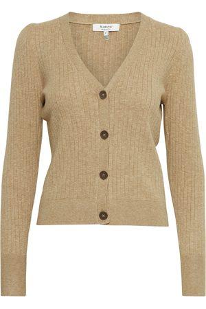 B YOUNG Dames Cardigans - Gebreid vest 'BYNAKTA RIB CARDIGAN 2