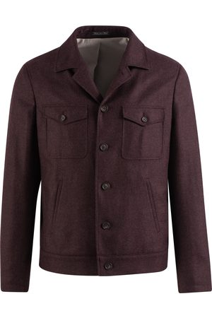 SOC13TY SOCI3TY Jack Heren Bordeaux Wool And Cashmere