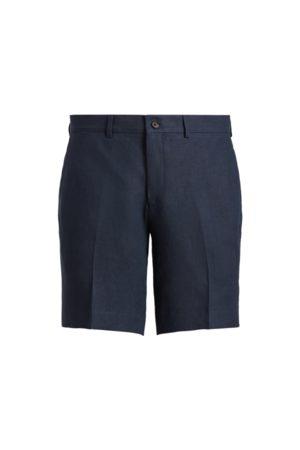 Purple Label Heren Shorts - Gregory Linen Short