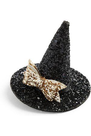 Primark Black halloween glitzy witches hat hair clip