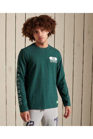Superdry Heren Lange mouw - Track & Field shirt met lange mouwen