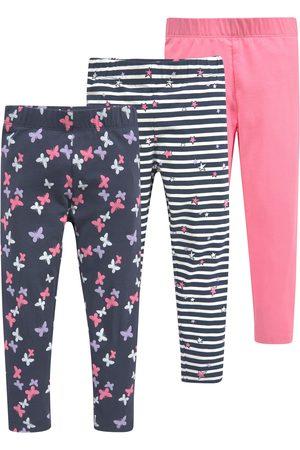 KIDSWORLD Meisjes Leggings & Treggings - Legging met verschillende motieven en kleuren (set, Set van 3)