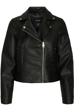 VERO MODA Imitation Leather Jacket Dames