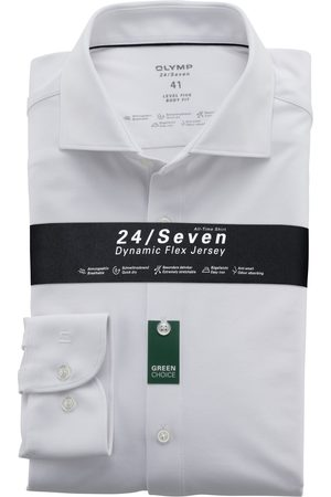 Olymp Overhemd 24/Seven knitted Body Fit
