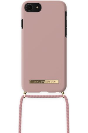 IDEAL OF SWEDEN Ordinary Phone Necklace Case iPhone 8 Misty Pink