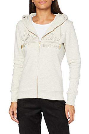 Superdry Dames Vl Tonal Emb Ziphood Cardigan Sweater