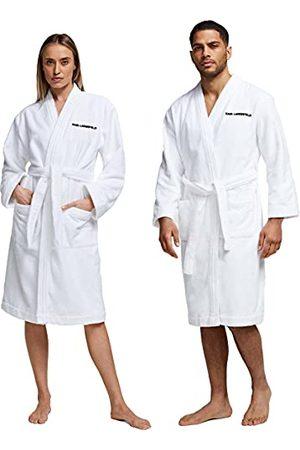 Karl Lagerfeld Unisex Logo Bath robe