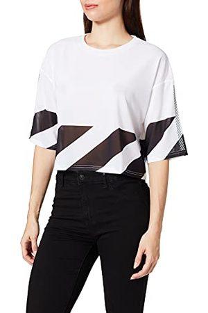 Superdry Dames Running Mesh Crop Tee T-Shirt