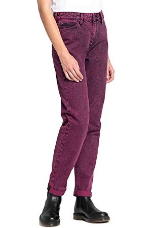 Lee Dames Mom Straight Jeans, Rose (Beetroot Gs), 28W x 31L