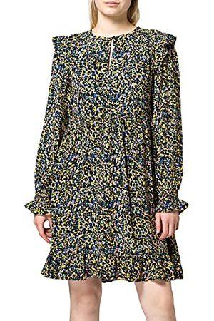 Scotch&Soda Drapey Dress met Shoulder Ruffles-jurk voor dames