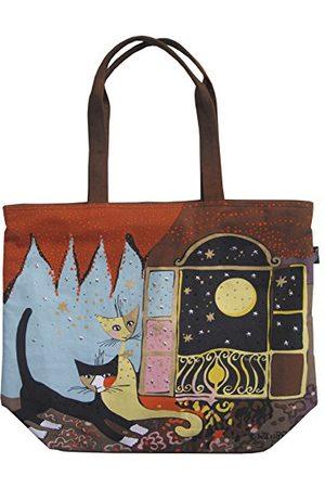 Fridolin Canvas/Beach Tote Bag, 48 cm, 6,9 liter, Multi kleuren 2111594
