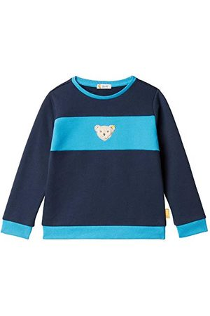 Steiff Sweatshirt voor jongens, (Black Iris 3032), 98 cm
