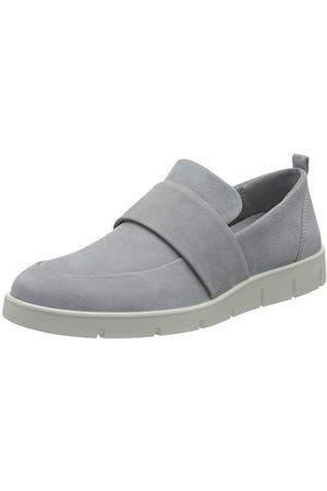 Ecco Dames Bella Loafer Slipper, Silver Grey, 41 EU