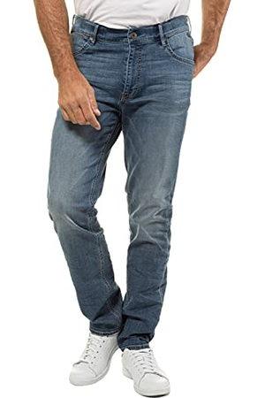 JP 1880 Heren Verborgen elastiek N Straight Jeans, (light blue stone), 38W x 34L