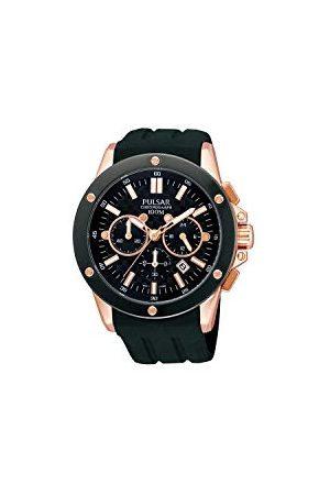 Pulsar Horloges herenhorloge XL sport chronograaf kwarts rubber PT3128X1