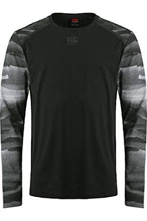 Canterbury Heren Vapodri Cotten/Poly lange mouw Grip Training T-Shirt