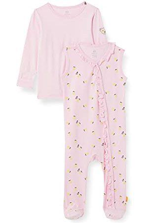Steiff Baby-meisjes-set rompers + T-shirt lange mouwen