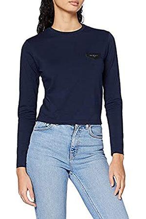 Gianni Kavanagh Navy Blue Core Long Sleeve Tee Dames T-Shirt