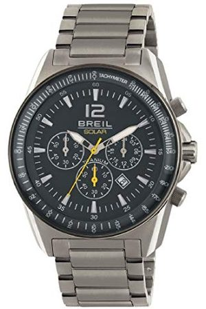 Breil Heren chronograaf kwarts smartwatch polshorloge met titanium armband TW1658