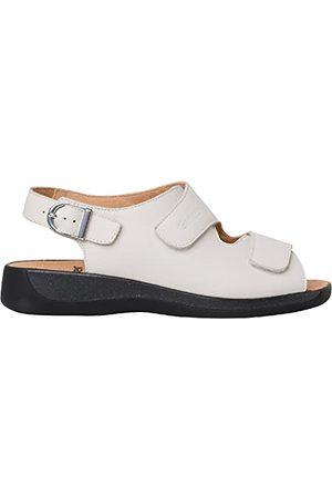 Ganter Gele Monica-G, dubbelklittenband-sandalen, dames
