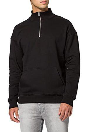 Urban classics Sweatshirt voor heren, (black 7), XL