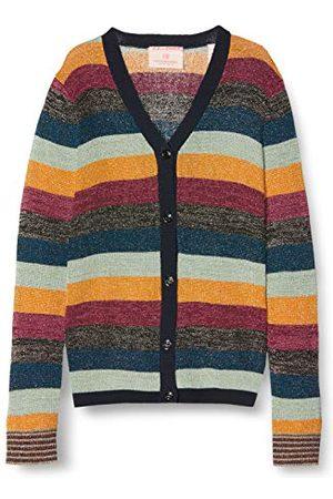 Scotch&Soda Cardigan voor meisjes in Colourful Lurex Stripe gebreide jas