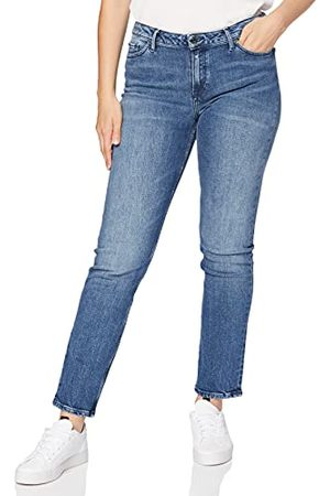 Tommy Hilfiger Dames Rome Rw Rolled Up Ankle F Allegra Straight Jeans, (Allegra 912), 30 NL